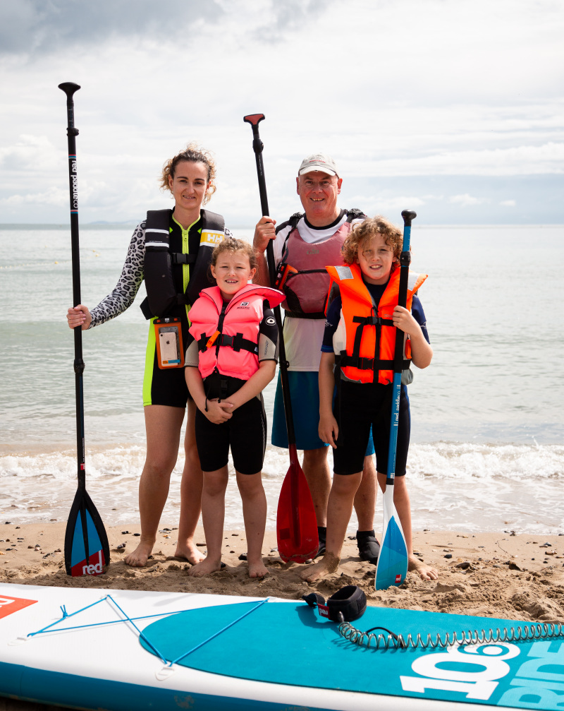 Discover a new skill – try paddleboarding