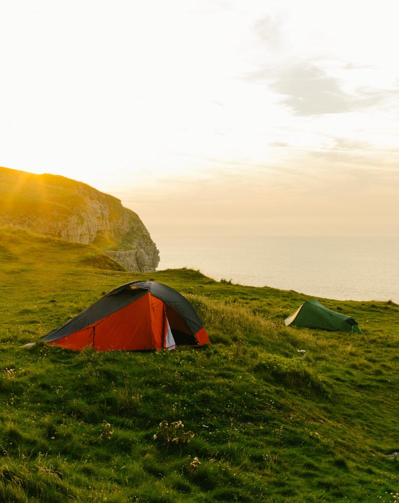 Caravan and camping holidays